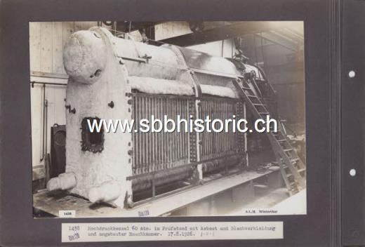 F_SLM_3_01438_A SLM-Hochdruck-Dampflok 60 atm. (Detail) A 3/5 ...